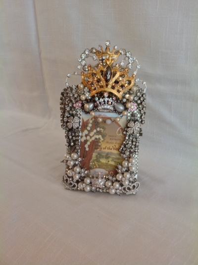 Glitzy crown