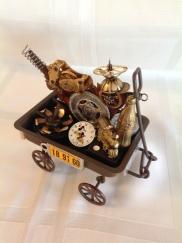 Toy wagon GO (back)