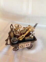 Toy wagon GO (front)