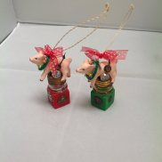Flying Pigs Ornaments